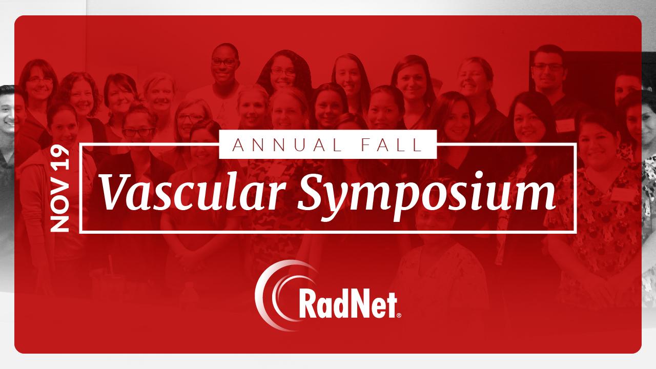 The 2nd Annual RadNet Fall Vascular Symposium