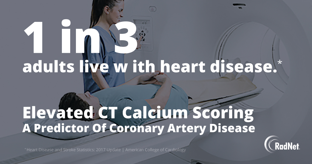 Elevated CT Calcium Scoring