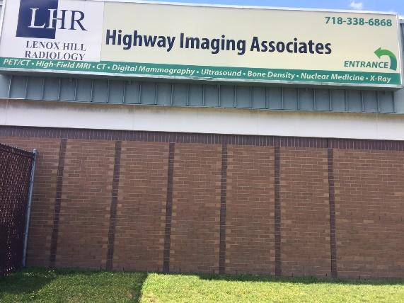 Highway Imaging   NY   Lenox Hill Radiology