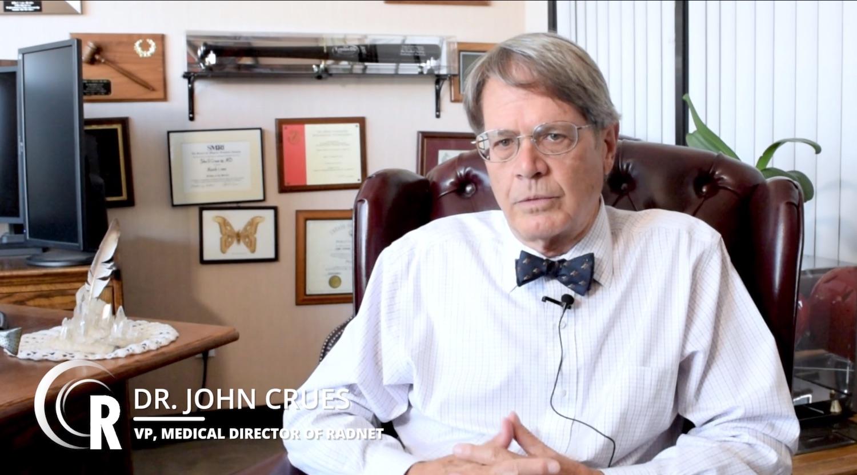 Dr John Crues RadNet AI Radiology