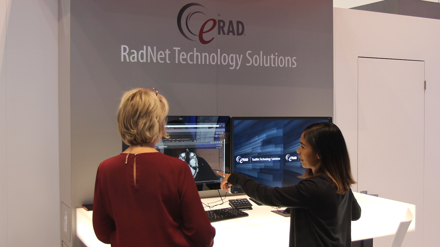 RadNet Radiology IT Innovation | eRAD Demonstrating its Radiology Solutions