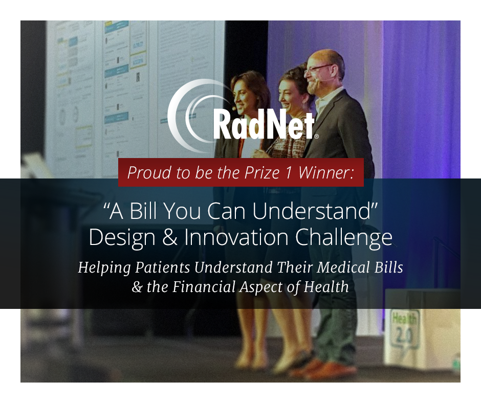 RadNet Wins HHS A Bill You Can Understand Design Challenge